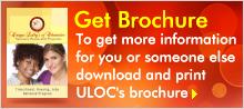 ULOC Women's Recovery Brochure